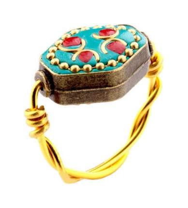 Кольцо бижутерия Bradex Испанская Мозаика размер 17