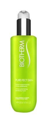 Лосьон для лица Biotherm Purefect Skin Очищающий с эффектом микропилинга