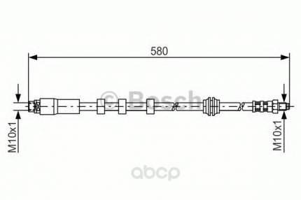 Тормозной шланг Bosch 1987476093