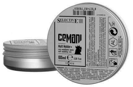 Воск для укладки Selective Professional CEMANI Matt molder+ 100 мл