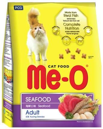 Сухой корм для кошек Me-O Adult, морепродукты, 7кг