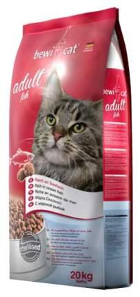Сухой корм для кошек Bewi Cat, рыба, 20кг