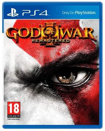 Игра God of War III Remastered Edition для PlayStation 4