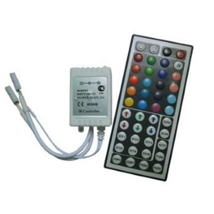 Контроллер Ecola 144W 12V 12A Rgb с большим ИК пультом Crl144Esb