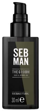 Масло для волос Sebman THE GROOM для ухода за волосами и бородой 30 мл