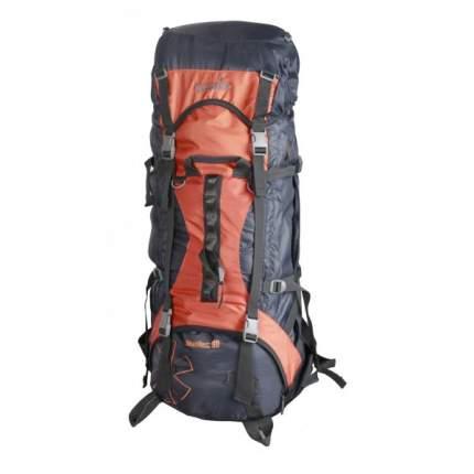Туристический рюкзак Norfin Newerest NS 80 л серый/оранжевый