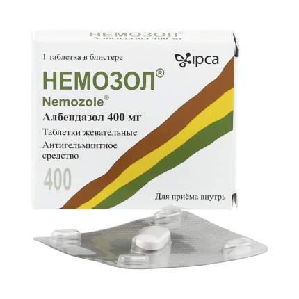 Немозол таблетки 400 мг