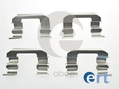 Комплект монтажный тормозных колодок Ert для Chevrolet Lacetti/Daewoo Tacuma 00-05 420062