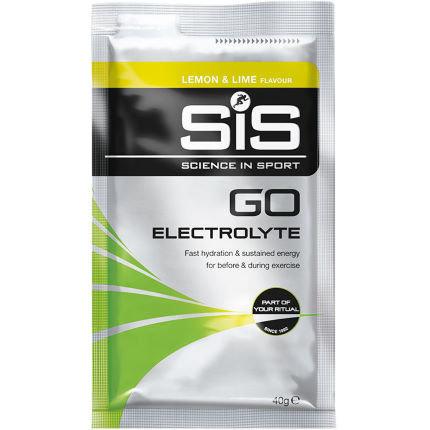 Изотонический спортивный напиток SiS Go с электролитами, 40 г, лимон-лайм