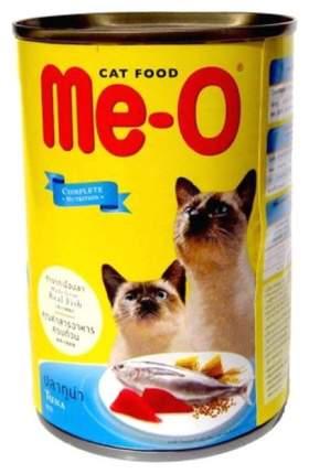 Влажный корм для кошек Me-O Adult, тунец в желе, 400г