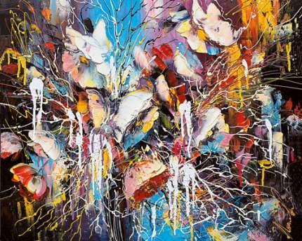 Репродукция Лиана Моисеева, Фейерверк цветов 50х62,5см
