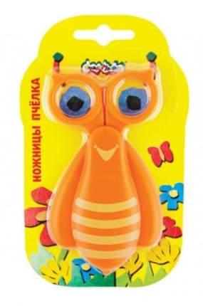 Каляка-Маляка Каляка-Маляка Ножницы детские Пчелка, с чехлом, 10 см,, арт, НЧКМ-П