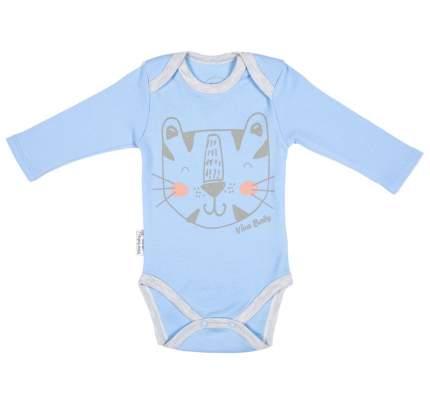 Боди Viva Baby М4102-1 Голубой 56р.