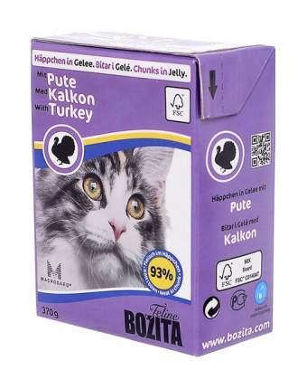 Влажный корм для кошек Bozita Feline индейка 370 г