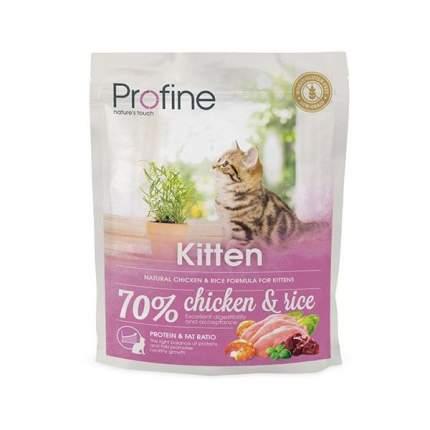 Сухой корм для котят Profine Kitten от 1 до 12 месяцев, курица, 0,3кг