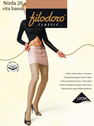 Колготки Filodoro Classic NINFA 20 VITA BASSA/Playa/2 (S)