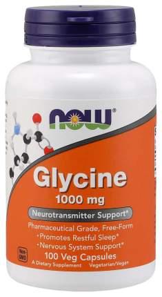 Для нервной системы NOW Glycine 1000 мг 100 капсул