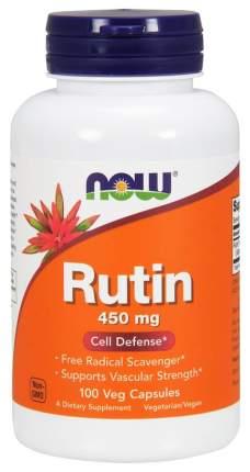 Для сердца и сосудов Now Rutin 450 мг 100 капсул