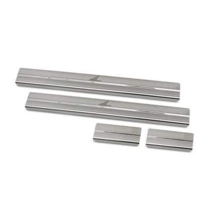 Накладки на внутренние пороги  на металл PEUGEOT 3008 2010-2013, PG08.31.3638