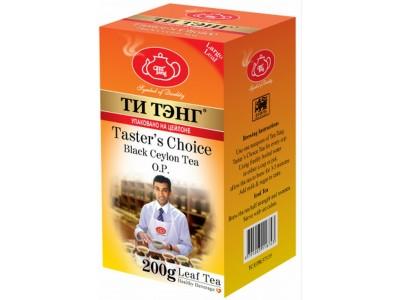 Чай весовой черный Ти Тэнг Tasters Choice O.P. 200 г