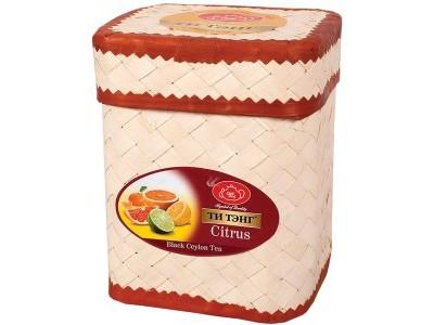 Чай черный Ти Тэнг Citrus O.P. в плетенке 100 г