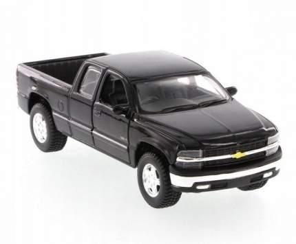 Машинка Maisto 1:24 Chevrolet Silverado 1998, черная