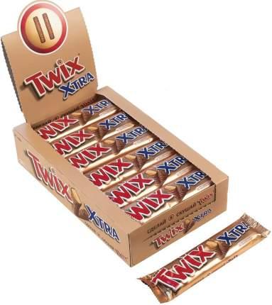 Батончик Twix xtra шоколадный 82 г 24 штуки