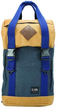 Рюкзак G.Ride Arthur синий/горчичный 17 л