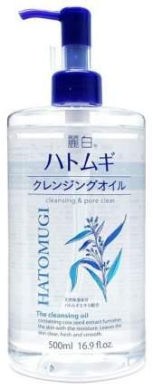 Очищающее масло Urarashiro HATOMUGI 500 мл