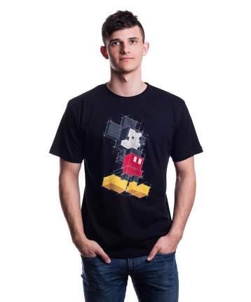 Мужская футболка Disney Mickey Pixels (Размер XS)
