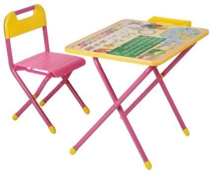 Комплект детской мебели Дэми №1 Глобус Розовый