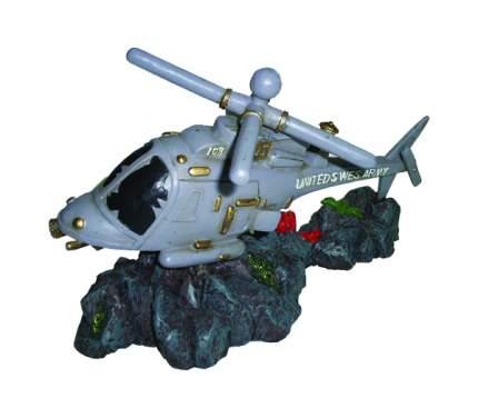 Декорация для аквариума Prime Затонувший вертолет PR-CH2808