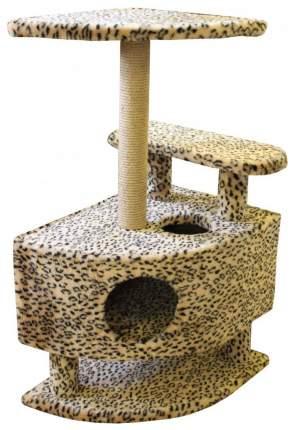 Комплекс для кошек Пушок Угловой со ступенькой на ножках в ассортименте