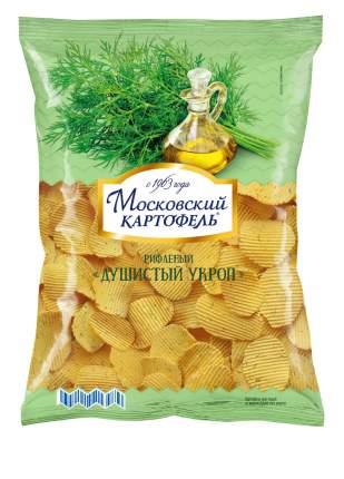 Чипсы картофельные рифленые Московский картофель душистый укроп 150 г