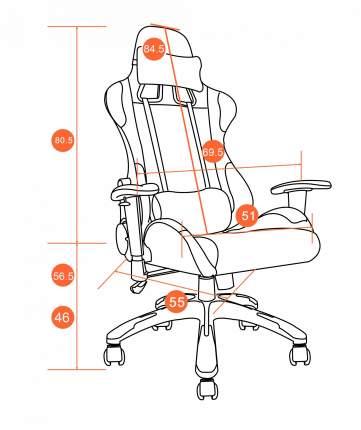 Игровое кресло TetChair iGear, черный