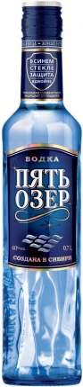 Водка Пять Озер  0.7 л