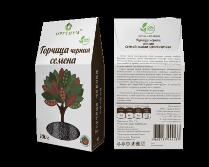 Семена черной горчицы Оргтиум 100 г