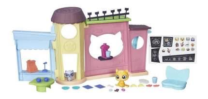 Игровой набор littlest pet shop кафе b5479
