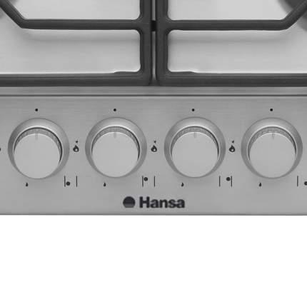 Встраиваемая варочная панель газовая Hansa BHGI63110035 Silver