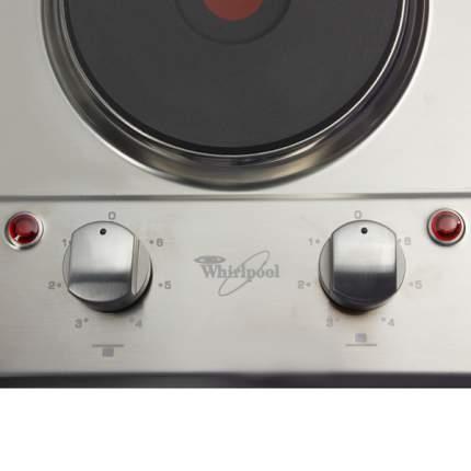 Встраиваемая варочная панель электрическая Whirlpool AKT310/IX Silver