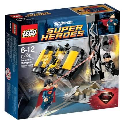 Конструктор LEGO Super Heroes Супермен: Решающий поединок в Метрополисе (76002)