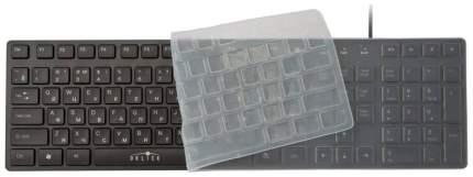 Клавиатура Oklick 556S черный USB slim Multimedia