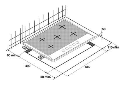 Встраиваемая варочная панель газовая Beko HIMW 64225 SW White