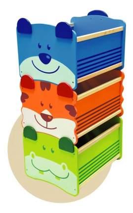 """Ящик для хранения I'm Toy """"Бегемот"""" зелёный"""