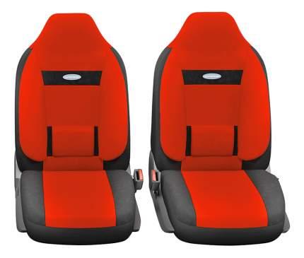 Комплект чехлов на сиденья Autoprofi Comfort COM-1105H BK/RD (M)