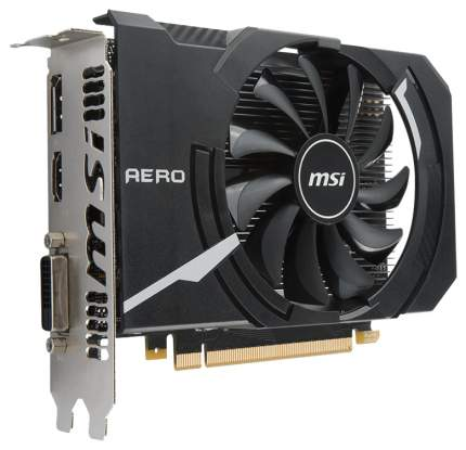 Видеокарта MSI Aero GeForce GTX 1050 Ti (GTX 1050 TI AERO ITX 4G OC)