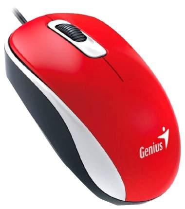 Проводная мышка Genius dX-110 Red (DX-110)
