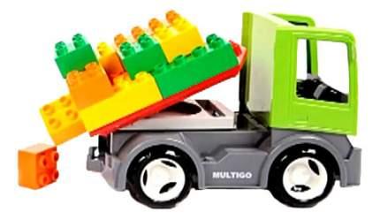 Грузовик MultiGo со строительной платформой и сменным кузовом