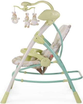 Кресло-качели Happy Baby Luffy Green