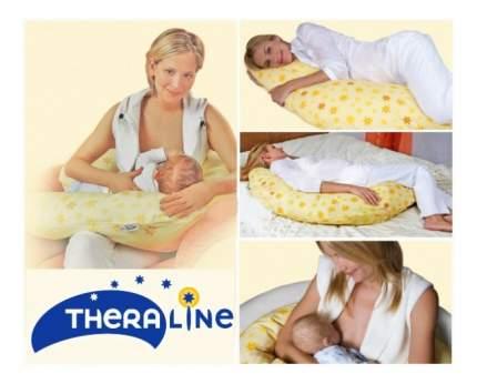 Подушка-трансформер для кормления Theraline Поляна желтая